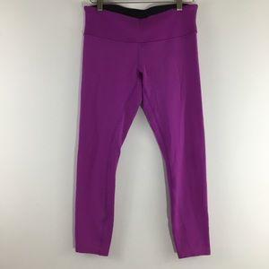 Lululemon Purple Wunder Under Yoga Pants Leggings